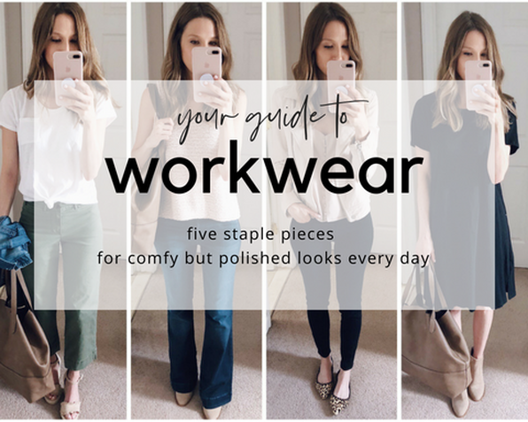 workwear capsule wardrobe guide