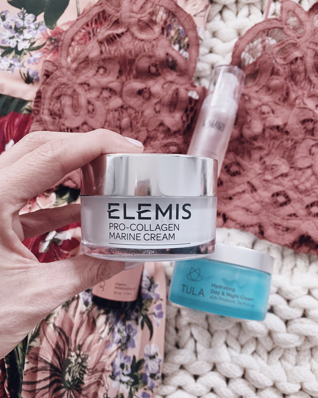 elemis pro-collagen marine cream to use with glopro microneedling device