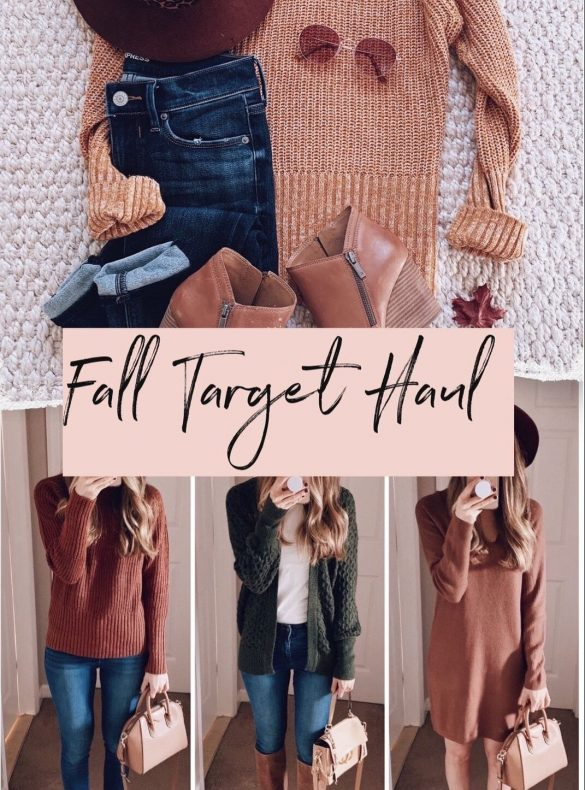 fall target clothing haul affordable outfit ideas