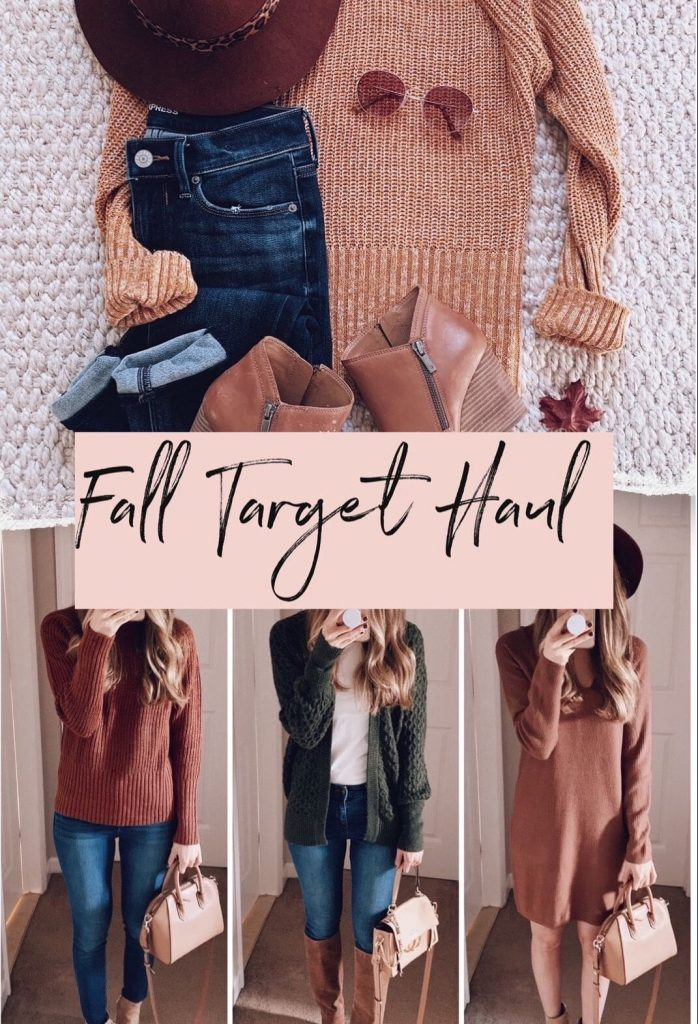 fall target outfit clothing haul affordable outfit idea autumn