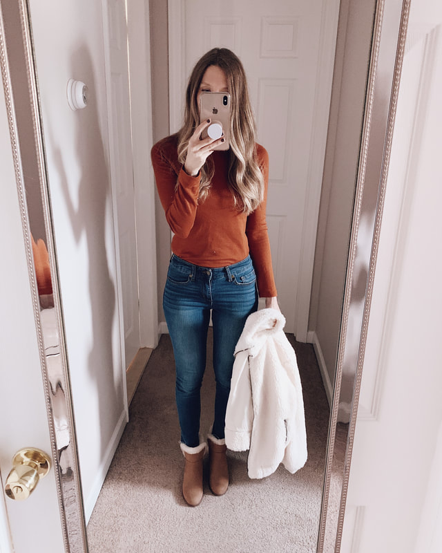 fall target clothing haul