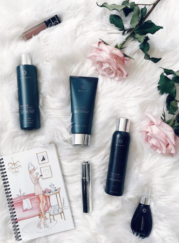 monat hair product system review for hair growth