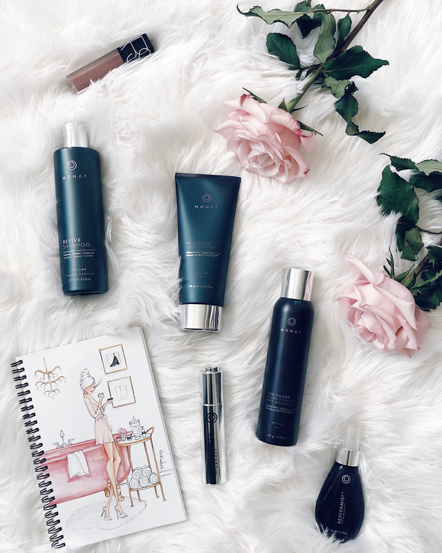 monat haircare product review