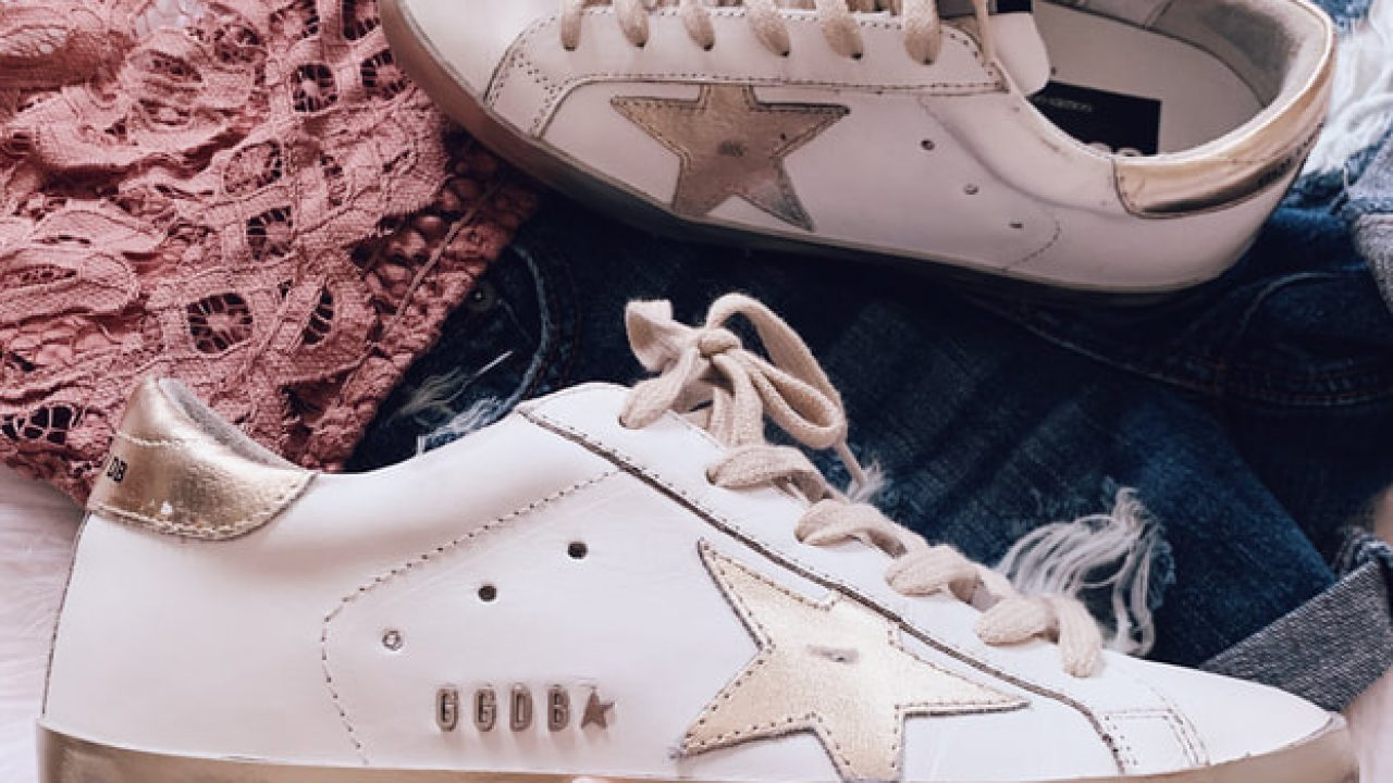 With Golden Goose Sneakers