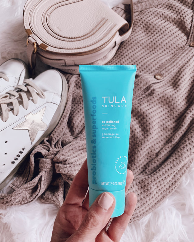 Tula skincare so polished exfoliating sugar scrub