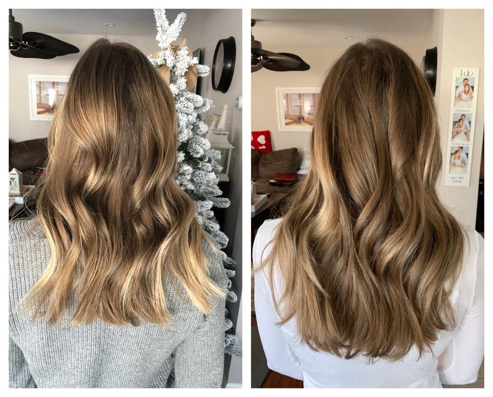 monat one year hair transformation before after photo hair growth