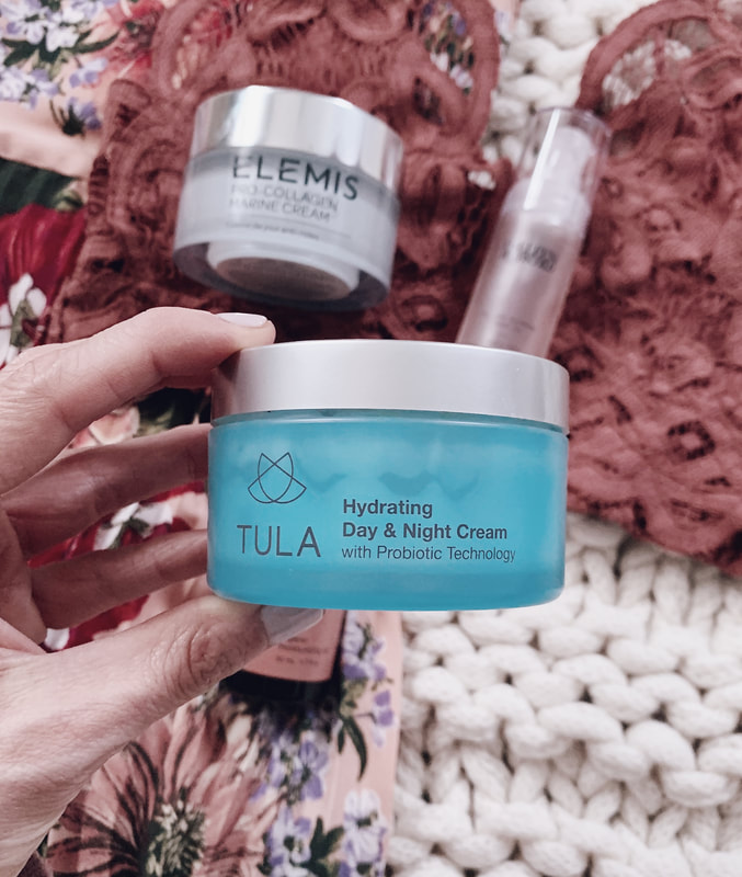 tula hydrating day night cream skincare with glo pro microneedling