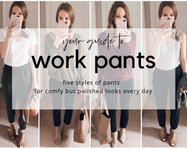 your guide to the best work pants business professional office casual workwear attire