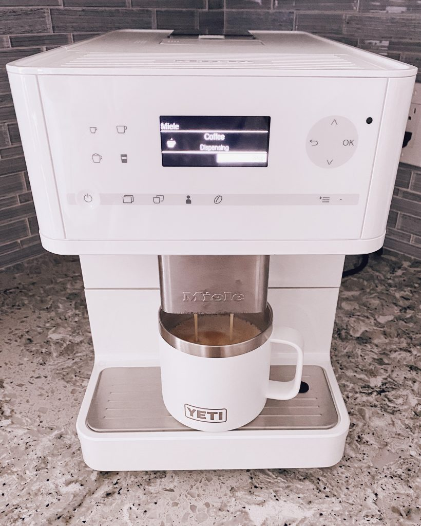 Miele CM6150 coffeemaker countertop coffee espresso machine review white color