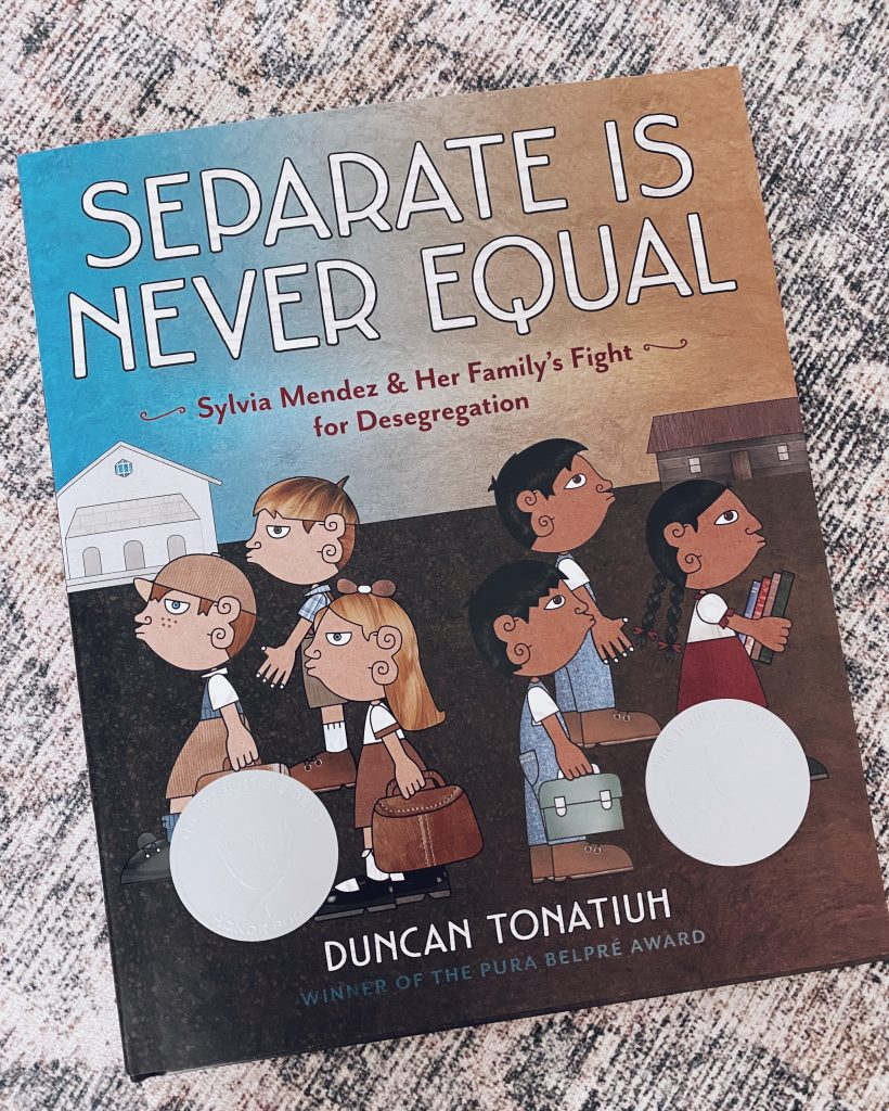 diverse childrens books, kids books that promote diversity separate is never equal