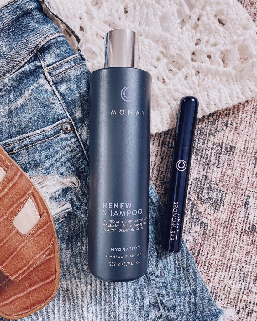 monat renew hydration shampoo and monat eye wonder