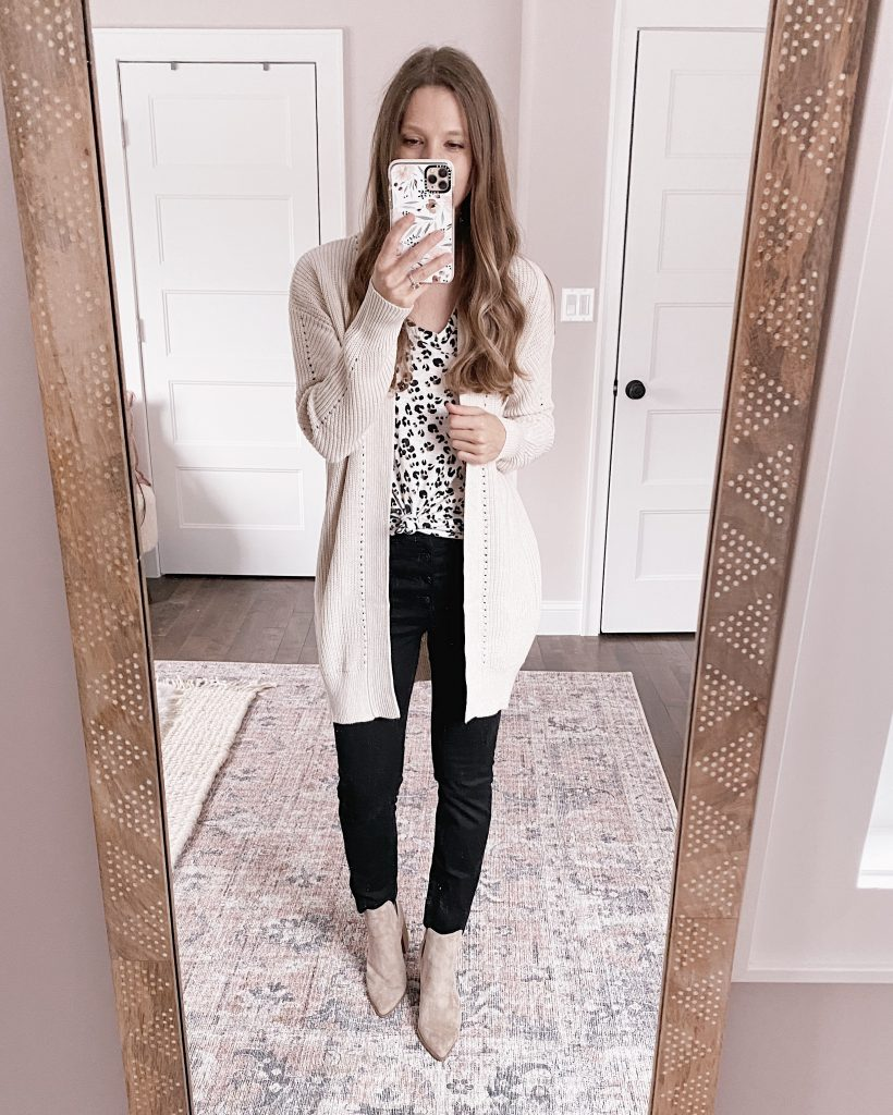 nordstrom anniversary sale outfit BP cardigan