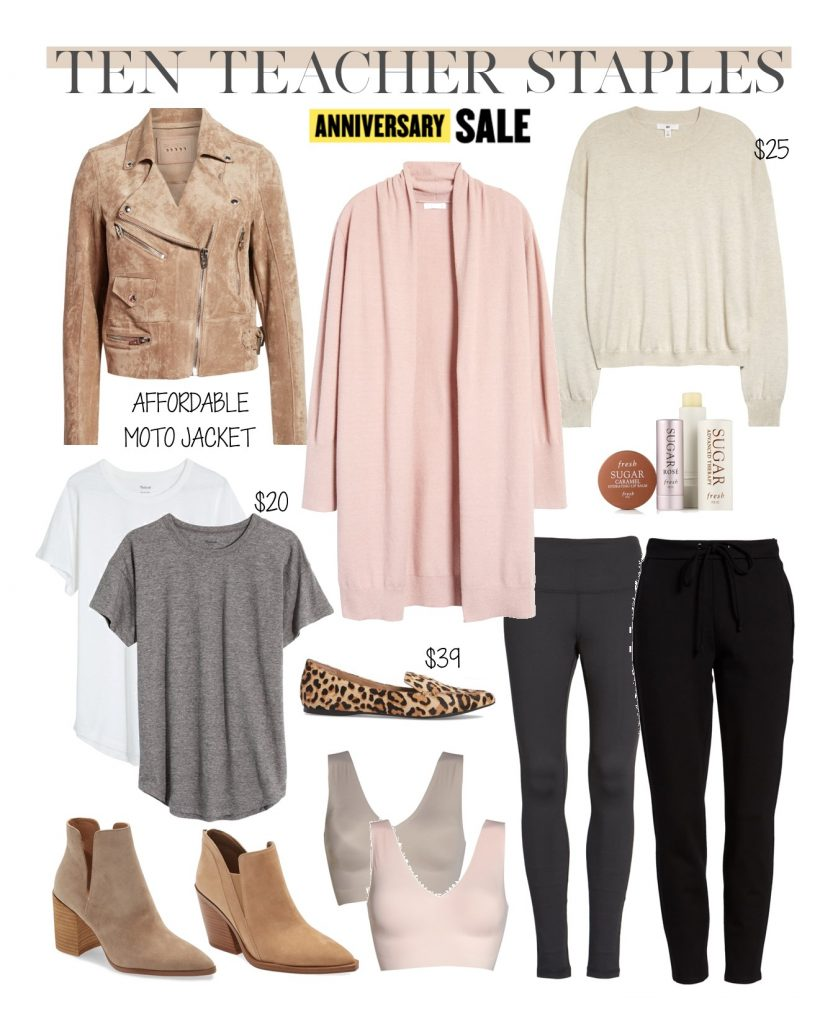 nordstrom anniversary sale teacher outfit staples