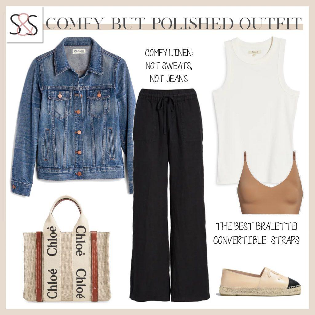 linen pants work wear teacher outfits casual outfit inspiration